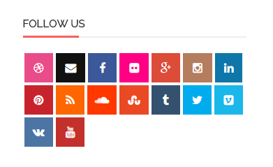 Social networks subscription buttons in CS-Cart